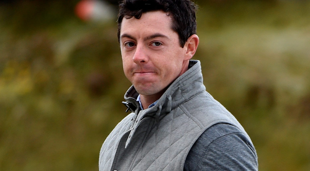 Leading the field: Rory McIlroy