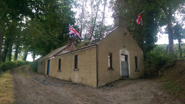 A charity fundraising page has been set up with a target to raise £2,000 for Ballytyrone Orange Hall outside Loughgall