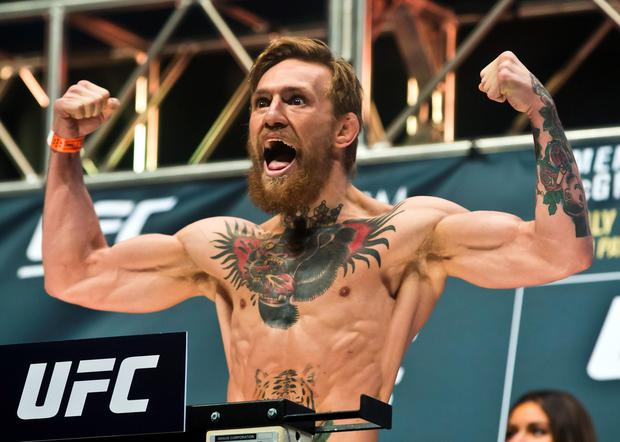 UFC champion Conor McGregor