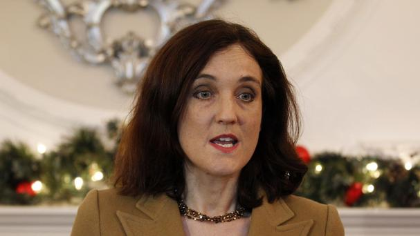 Dissident republicans will be a threat to the Northern Ireland peace process for the foreseeable future, says Theresa Villiers