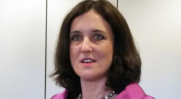Theresa Villiers has said Northern Ireland will not receive any extra money to help with the budget dispute