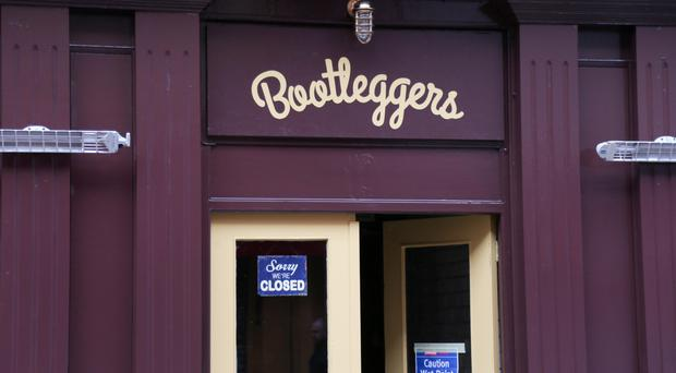 All change: the newly named Bootleggers yesterday