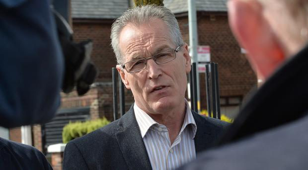 Sinn Fein's Gerry Kelly