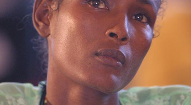 High-profile opponent of female genital mutilation, Somalian-born former supermodel Waris Dirie who is now a UN special ambassador on the issue
