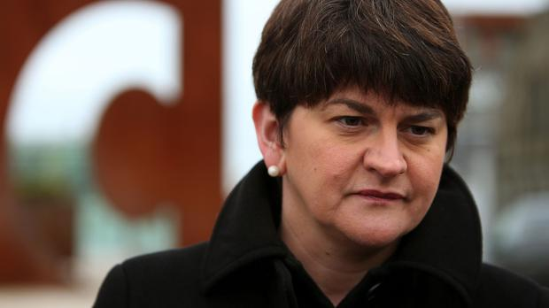 Finance minister Arlene Foster warned of potentially dire consequences of Westminster welfare cuts