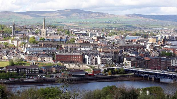 The attack happened in the Waterside area of Londonderry