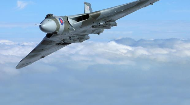 The Vulcan will swoop for show here in September