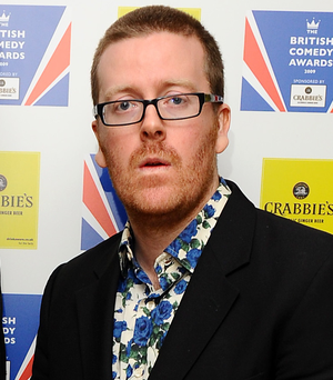 Comedian Frankie Boyle is to perform at Féile an Phobail: West Belfast Festival on August 7
