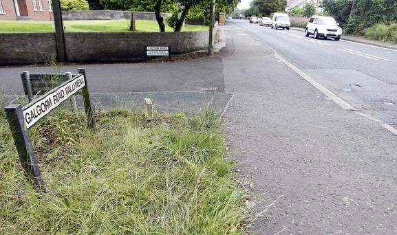 The junction in Ballymena where Yvonne Richmond was killed by a car