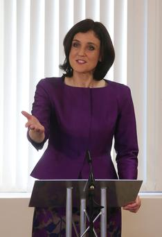 Theresa Villiers is in Washington to spell out her position
