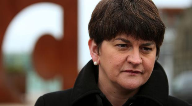 Arlene Foster welcomed the deal