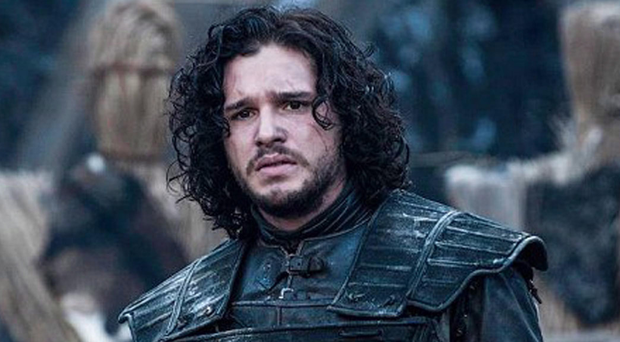 Popular character Jon Snow, played by Kit Harington