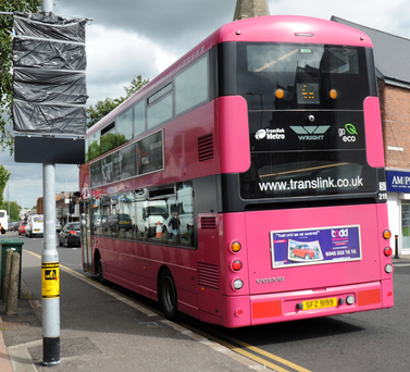 New bus lanes are to operate from next week