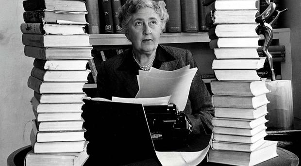 Prolific crime author Agatha Christie