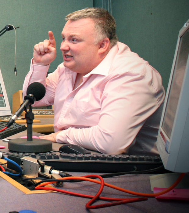 Radio Ulster phone-in presenter Stephen Nolan