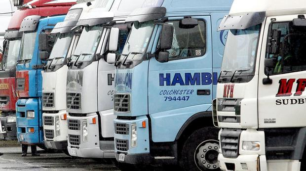 Truckers will be swapping juggernauts for two wheels