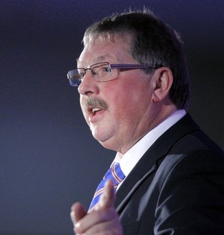 Sammy Wilson is quitting Stormont, but will continue to be MP for East Antrim