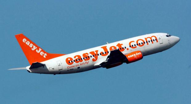 """Head of flight operations at easyJet, Brian Tyrrell, said the firm had a """"long-term strategy"""" to develop more female pilots"""