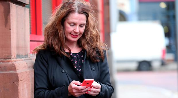 Deborah Moore admits she's on her phone virtually non-stop