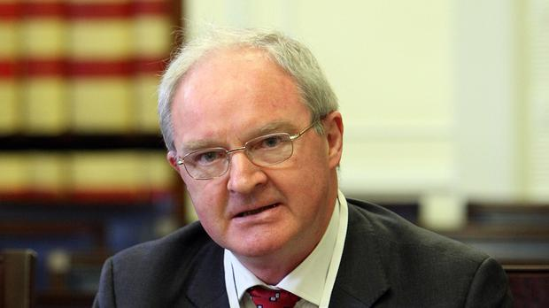 Lord Chief Justice Sir Declan Morgan will lead the service independently from government