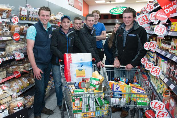 Farmers from the Coleraine and Ballymoney who each donated money to buy food for the local Trussell Trust Food Bank