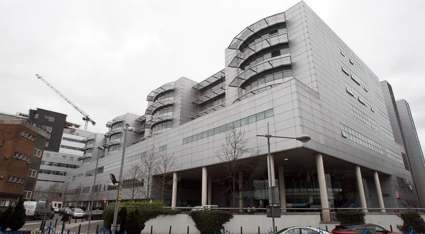 The injured girl was taken to the Royal Victoria Hospital, Belfast