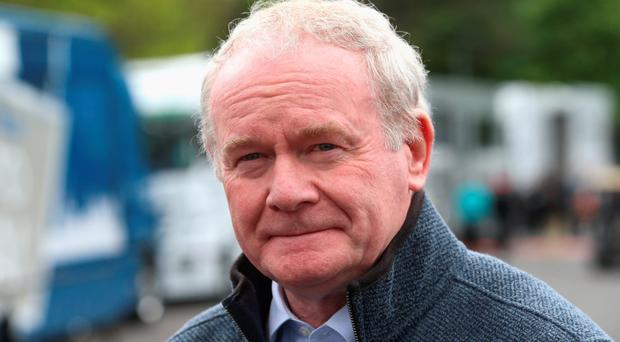 Martin McGuinness says he has a good working relationship with counterpart Peter Robinson, despite the difficulties faced by the Executive