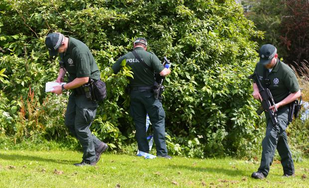 Detectives search land between the Foxes Glen and Glenkeen