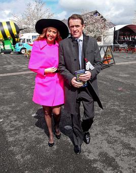Tony McCoy with wife Chanelle