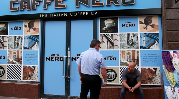 Caffe Nero's Donegall Square West branch in Belfast is closed for renovation