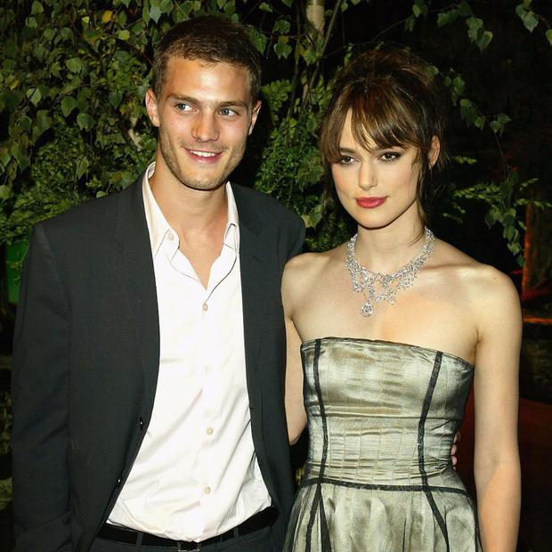 Some of the old photos of Jamie Dornan and Keira Knightley which have appeared on the internet