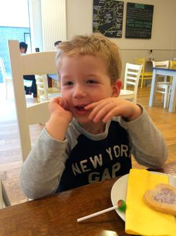 Oliver Scullion (4) was killed in the accident at Hilden Brewery on Thursday