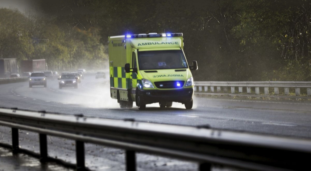Calls to the ambulance service were diverted to staff mobile phones and colleagues in Scotland