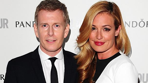 Patrick Kielty said there was always 'a spark' between him and Cat Deeley