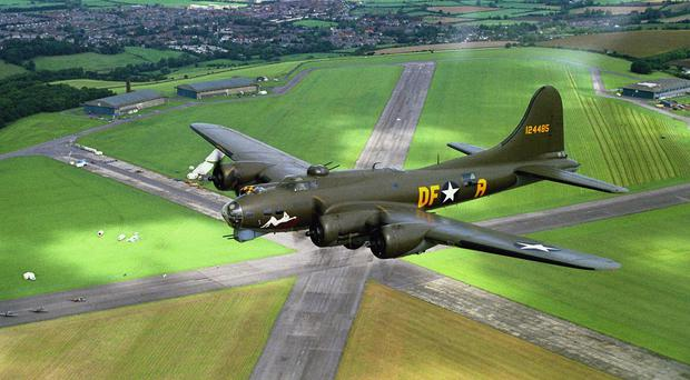 Sally B will form part of a Second World War display at the Air Waves show in Portrush