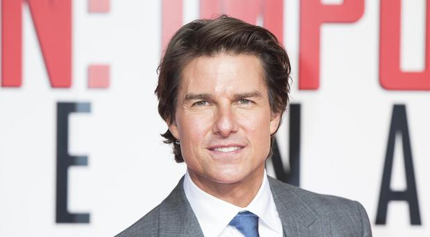 Tom Cruise was among those awarded a certificate of Irishness
