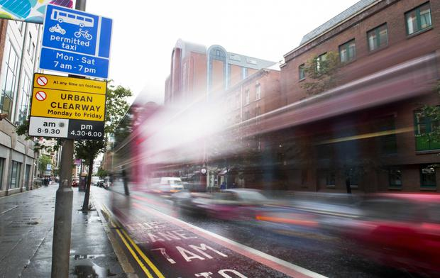 There have been complaints that multiple signs are causing confusion, such as those in Great Victoria Street, Belfast