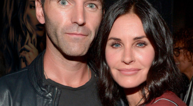 Johnny and Courteney at the premiere