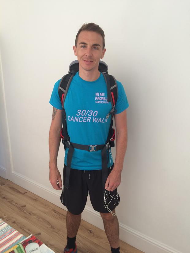 Ashley Boyd will walk from John O'Groats to Land's End in honour of Adrian Rae