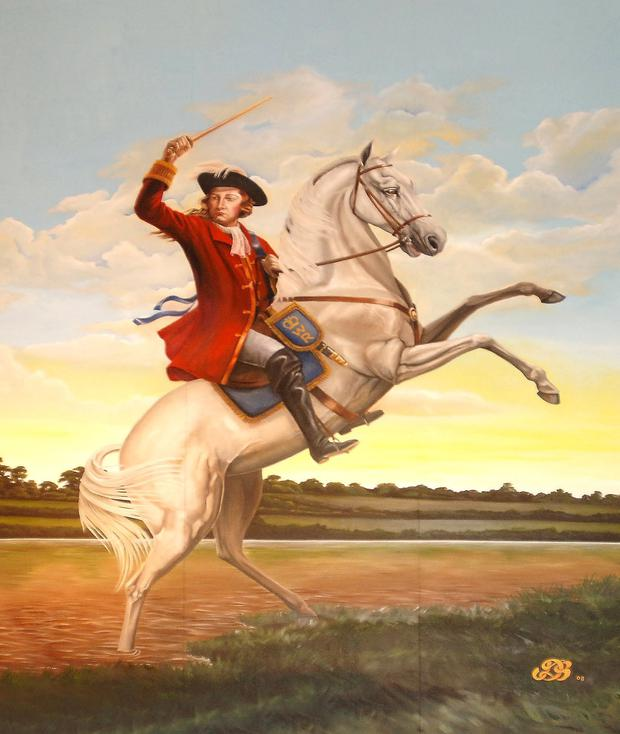 Image result for king billy on his white horse