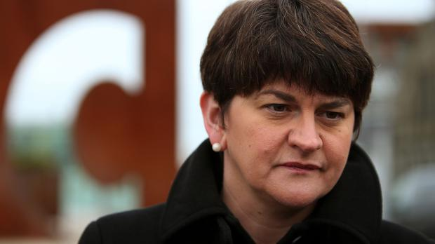 Arlene Foster is among the finance ministers who have issued a joint statement raising concerns over continuing austerity measures