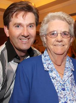 No1 fan: Daniel O'Donnell and his mother Julia who was a big Strictly fan