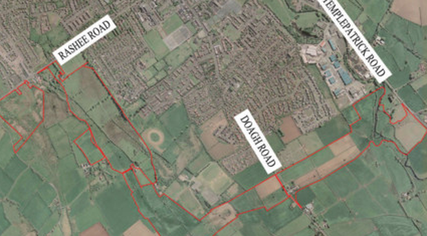 The 165-acre Ballyclare site that is that is on the market
