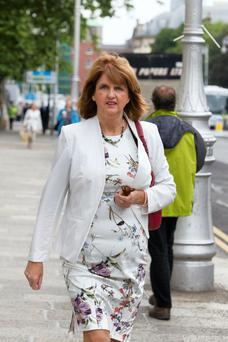 Irish Labour leader Joan Burton