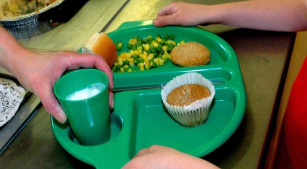 It is claimed that thousands of children are missing out on free schools dinners