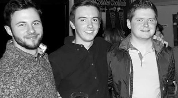 Peter Hughes, Conall Havern and Gavin Sloan were all Queen's students