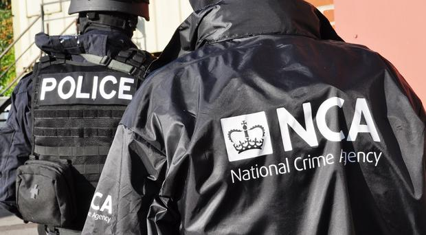 The suspected heroin was seized in the Strangford area