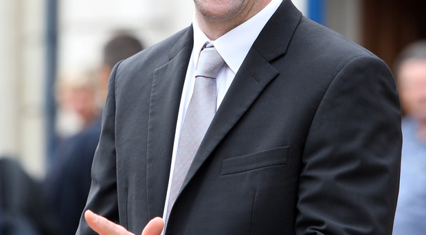 Environment Minister Mark H Durkan