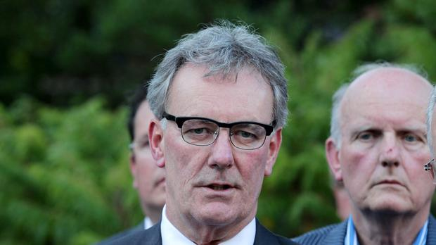 UUP leader Mike Nesbitt proposed the exit in response to a police assessment that structures of the Provisional IRA remain in place