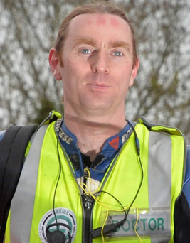 Dr John Hinds passionately advocated the establishment of an air ambulance service before his death